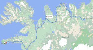 iceland route myvatn to snaefellsnes